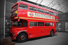 Routemaster  - London Bus of the Past (big_jeff_leo) Tags: bus iconic red transport museum classic london british brooklands vehicle vintage