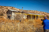 Yard Art (KPortin) Tags: newmexico toy wilbur photographer fence abandonedhouse weeds