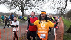 John Diamante - 350 parkruns (Paul-M-Wright) Tags: bromley parkrun norman park south london saturday 31 march 2018 running runners sport uk england gb londonparks londonstreets john diamante 350 parkruns finish tunnel br29ef