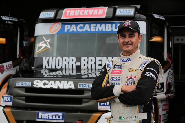 Roberval Andrade - Foto: Vanderley Soares/Copa Truck