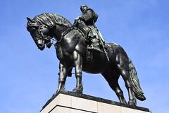 horse rider (t.horak) Tags: statue sculpture kafka horse rider žižka leader czech bohemia armed 14th blue black