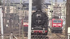 Einfahrt 44 1486 (Thomas230660) Tags: dresden eisenbahn dampf dampflok steam steamtrain sony