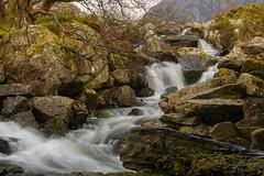 Ogwen Falls 7 (alan.dphotos) Tags: river ogwen rhaeadr water waterfall white stream falls winter wales