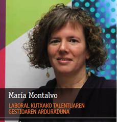 MONDRAGON People-María Montalvo