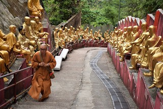 Ten thousand Buddhas monastery - Hong Kong