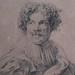 VAN DYCK Antoon - Portrait de Simon de Vos (drawing, dessin, disegno-Louvre RF662) - Detail 5