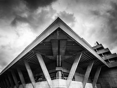 National Theatre (amipal) Tags: architecture brutalism brutalist building capital city concrete england gb greatbritain hdr london nationaltheatre southbank uk unitedkingdom urban
