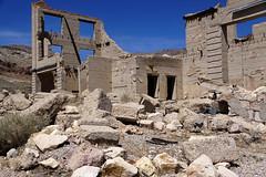 Rhyolite, Nevada (JRR) Tags: deathvalley deathvalleynationalpark desert californa rhyolite