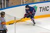 Optical illusion (Shark CR Photo) Tags: russia hockey player stick glass illusion refraction distorsion optics sports mhl referee icerink board puck sovietwings sigmaapo70200mmf28exdgoshsm