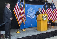 Chargé d'Affaires Christopher Henzel Introduces Secretary Pompeo (U.S. Department of State) Tags: saudiarabia riyadh mikepompeo