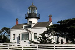 Point Pinos Light (Larry Myhre) Tags: pointpinos lighthouse historic pacificgrove california
