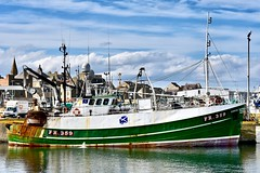 FR359 Sunrise - Fraserburgh Harbour Scotland - 19/4/2018 (DanoAberdeen) Tags: sunrisetrawler sunrise fr359sunrise danoaberdeen harbour fish fishing trawler trawlermen candid amateur autumn summer winte spring 2018 scallops salmon trout mackrel trawlers fishingboat bluesky nikon aberdeenshire aberdeen grampian northeastscotland shipspotting northsea seafarers maritime fishauction bonnyscotland fishtown fishingvillage thebroch broch fraserburghscotland dock boat ship vessel fraserburgh thebrooch highlands cod shellfish fishingtown