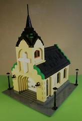 LutheranEvangelicalChurch (caatusmolotus) Tags: lego lutheran evangelical church chapel castle city cathedral kirk