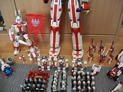 Unified Republik of Poland (2018 Update) (Śląski Hutas) Tags: lego mocs bricks poland polska scifi space futuristic laser mech