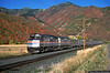 A Blaze of Color (jamesbelmont) Tags: railroad railway train amtrak californiazephyr emd f40ph passenger superliner spanishforkcanyon utah drgw riogrande castilla autumn color fallcolor