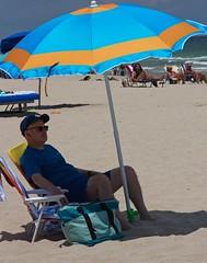 Man in blue (LarryJay99 ) Tags: 2018 beach streets people ftlauderdale ocean atlanticocean bulge bulges bulging blue shadows caps sunglasses hairy legs man hairyman hairylegs shirt barefuss men male guy guys dude dudes