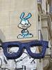 PA 1083 Bunny / Space Invader (Archi & Philou) Tags: spaceinvader streetart paris20 pixelart bunny lapin rabbit bleu mosaïque mosaic carreau tiles