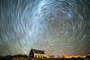 Tekapo Trails (hak87) Tags: new zealand south island church good sheperd star trails night milky way