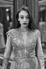 Bathroom with mirrors (piotr_szymanek) Tags: kasia kasiat woman milf portrait studio young skinny blackandwhite face longhair eyesoncamera dress mirror freckles 1k 20f 5k 50f 10k 20k