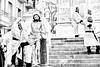 (Radioprivas) Tags: people blacksndwhite street settimanasanta cagliari italy biancoenero monochrome streetphotography canon g7xmarkii