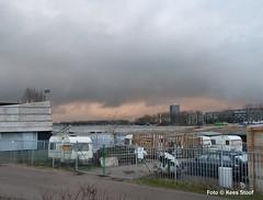 Zeeburgereiland, 3-2-2018 (kees.stoof) Tags: zeeburgereiland amsterdam zeeburg chaos caravans hek fence hff zuider ijdijk