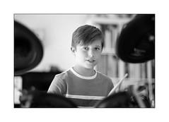 the drummer (Istvan Penzes) Tags: penzes leicasummiluxr80mm leicaevf2 leicaradapterm leicammonochromtyp246 thomas drummer handheld