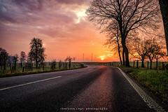 Sonnenaufgang (fotos_by_toddi) Tags: fotosbytoddi voerde niederrhein nrw nordrhein westfalen wolken sonne sun sony sonya7 sonyalpha7 sky stimmung alpha a7 alpha7 baum bäume strase street kraftwerk steag sonnenschein