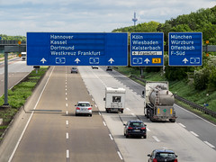 German Autobahn (-BigM-) Tags: deutschland germany hessen frankfurt main fraport airport a5 flughafen autobahn bab