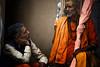 "A Varanasi Sadhu Chats (El-Branden Brazil) Tags: varanasi ganges ganga ceremony hindu hinduism asian asia sacred holy mystical ""south asia"" sadhu india indian"
