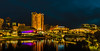 Adelaide at night (dmunro100) Tags: adelaide river torrens cityscape