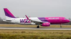 Airbus A320-232(WL) HA-LYK Wizz Air (William Musculus) Tags: basel mulhouse freiburg airport spotting bsl mlh eap lfsb airbus halyk wizz air a320232wl a320200