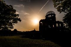 The Sky of Hiroshima ヒロシマの空 (Sign-Z) Tags: nikon d600 24120mmf4gvr hiroshima sky peacememorialpark atomicbombdome 空 原爆ドーム 平和記念公園 広島県 広島市 広島