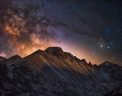 Rocky Mountain Heavens (Darren White Photography) Tags: nightphotography milkyway colorado coloradolandscapes coloradonights rockymountainnationalpark longs peak astro astrophotography sigmalens