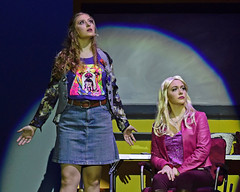 Paulette gets dramatic (R.A. Killmer) Tags: legally blonde actors expression performance singer talented senior michaela natalia paulette elle drama bethelpark musical
