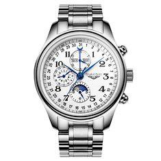 GUANQIN GQ20022 Moon Phase Calendar Auto Mechanical Watch (1270638) #Banggood (SuperDeals.BG) Tags: superdeals banggood jewelry watch guanqin gq20022 moon phase calendar auto mechanical 1270638