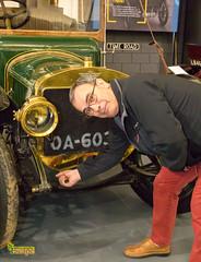 How do I 'handle' this? - British Motor Museum, Gaydon, Warwick. UK (staneastwood - 1.7 million views - Thank you all.) Tags: staneastwood stanleyeastwood car wheel light vintage headlight grill horn david crabbe