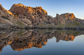 *Barker Dam sunrise*