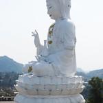 Giant Buddha, Wat Huay Pla Kung Temple, Chiang Rai thumbnail