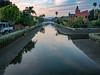 Venice Canals - Venice, California (mattybecks3) Tags: america ca cali california canals losangeles us usa unitedstatesofamerica venice goldenhour reflection water