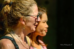 Two faces (Robica Photography) Tags: thailand bangkok asian european face closeup portrait streetphotography walking sunny daylight natural travel holiday expression enjoying d3200 woman female lady robicaphotography art streetart