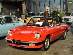 1983 Alfa Romeo Spider 1.6 (Alessio3373) Tags: cars auto spider oldcars classiccars alfaromeo alfaromeospider duetto alfaromeoduetto alfaromeospideraerodinamica alfaromeospider16 autoshite youngtimers targhenere worldcars