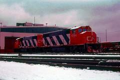 Yard Center (rrradioman) Tags: gp382w emd electromotive 5584 cn national canadian 1981 yard center dolton illinois