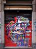IMGP9364 Window art (Claudio e Lucia Images around the world) Tags: milano streetart art murales windows paintedwall door entrance colors blinders pietroborsieri isola isolamilano pentax pentaxk3ii sigma sigma1020