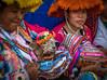 Women in traditional Peruvian dress - Cusco, Peru. (mckinnon949) Tags: cusco cuzco peru pe sweet 35 optic lensbaby