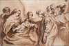 VAN DYCK Antoon - Mariage mystique de Sainte Catherine (drawing, dessin, disegno-Louvre RF660 - 0a (L'art au présent) Tags: art painter peintre details détail détails detalles drawings dessins dessins17e 17thcenturydrawings louvre museum paris france dessinshollandais dutchdrawings dutchpainters peintreshollandais antoonvandyck antoon antoine anton bible naked nu bare nude virgin vierge catherina mary marie maria figure figures personnes people man men homme femme women woman female jeunefemme youngwoman christ jésus jesus boy littleboy garçon enfant kid kids child children lavis wash santa