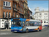 34410, Ramsgate (Jason 87030) Tags: slf pointer dart dennis stagecoach southeast eastkent loop thanet kent ramshate april 2018 holiday red white blue orange wheels bus srvice route shot sunny light