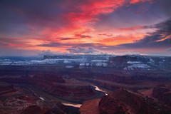 The Grand Finale (Ania Tuzel Photography) Tags: deadhorsepoint canyonlands coloradoriver sunset utah
