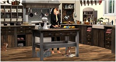 My Happy Place (Sivyaleah (Elora)) Tags: second life home drd kitchen cooking sl virtual mesh