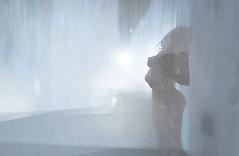 still on my skin (Wrenna Dolce) Tags: mist waterfall nude