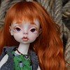 Meet Mirre (Eva Luna J) Tags: bjd balljointeddoll yosd doll dollchateau dollchateaumiriam faceup bjdfaceup yosdfaceup redhead newbjd